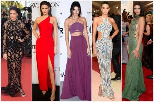 Sexiest red carpet looks of Kendall Jenner