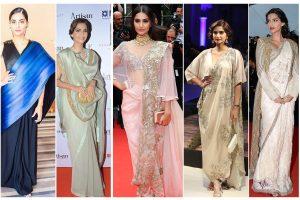 11 times Sonam Kapoor rocked the saree look