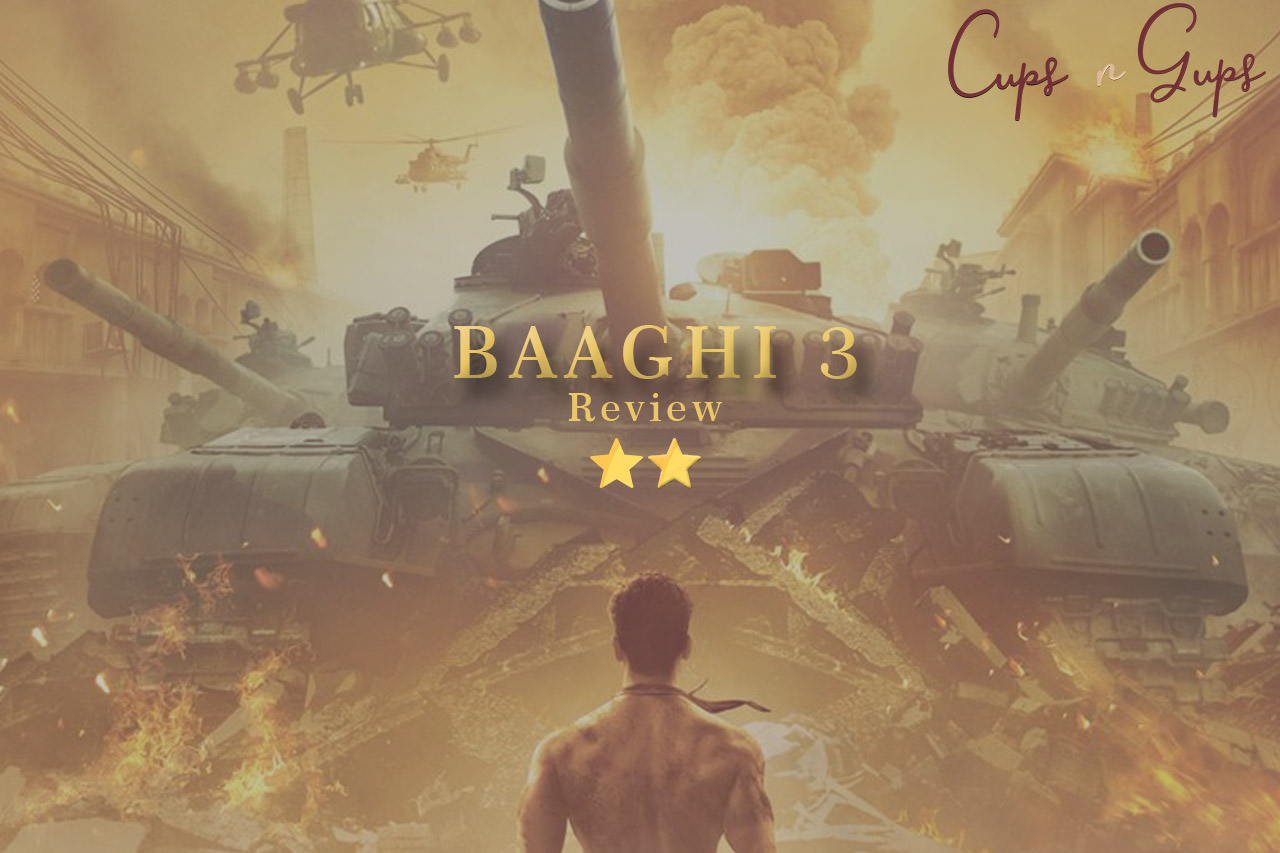 Baaghi 3 Movie Review – Tiger Shroff starrer is a weak prolongation to the Precursor!