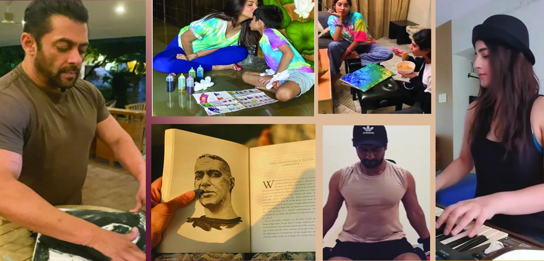 Corona virus Pandemic: How Bollywood celebs are spending quarantine time