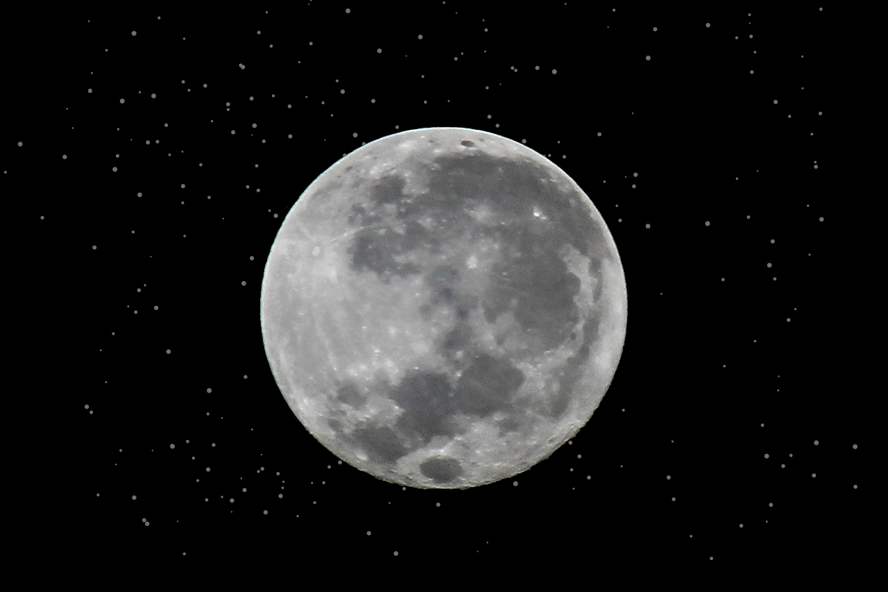 Brightest pictures of Supermoon Moon 2020